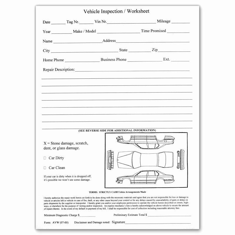 Free Vehicle Inspection Sheet Template Elegant Dealermarket Vehicle Inspection Sheet