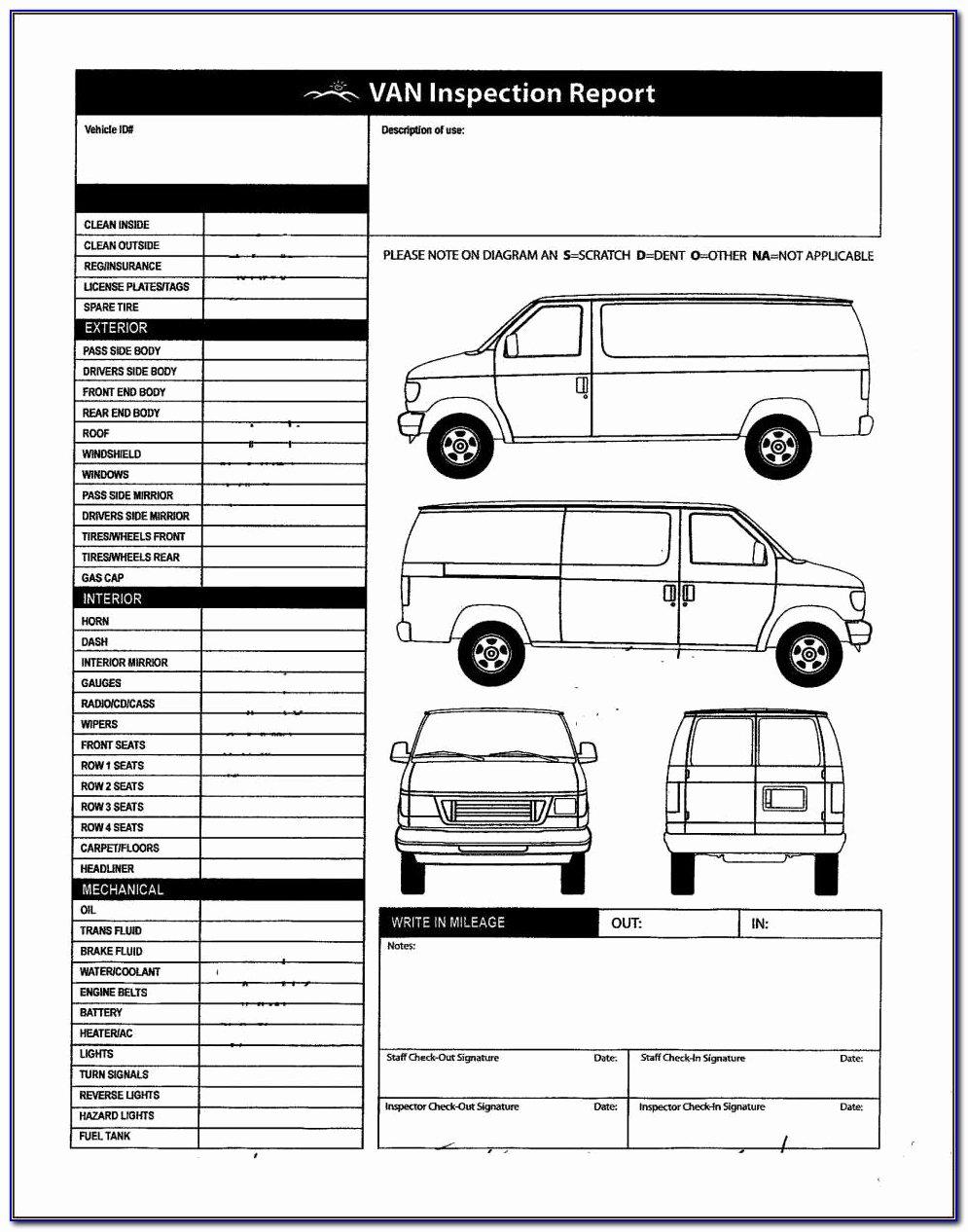 Free Vehicle Inspection Sheet Template Inspirational Alberta Motor Vehicle Inspection form Impremedia