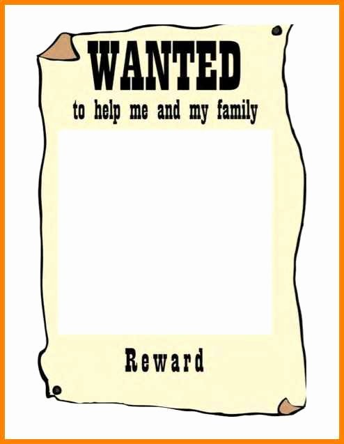 Free Wanted Poster Template Elegant 8 Editable Wanted Posters