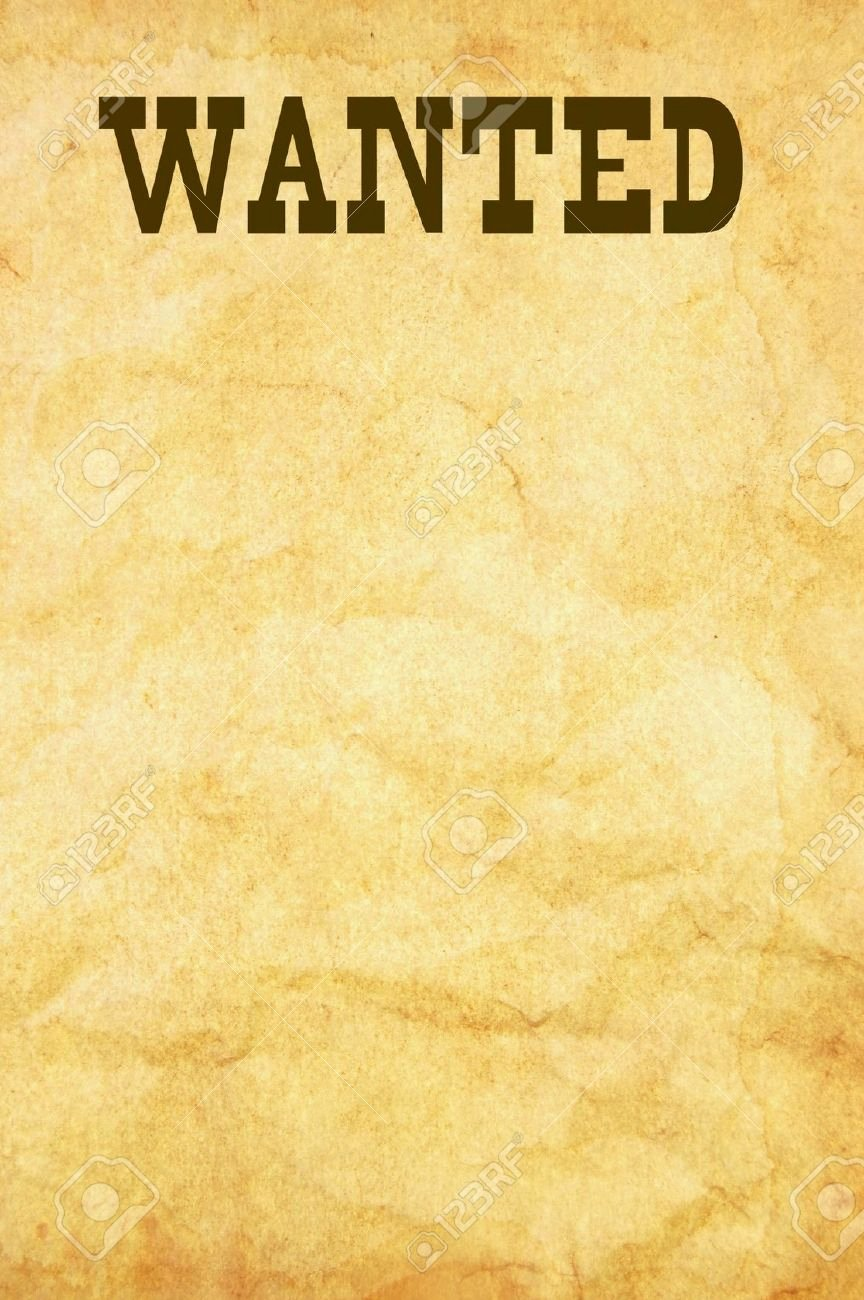 Free Wanted Poster Template Elegant What's the Simplest Way Of Fashioning A Wanted Poster