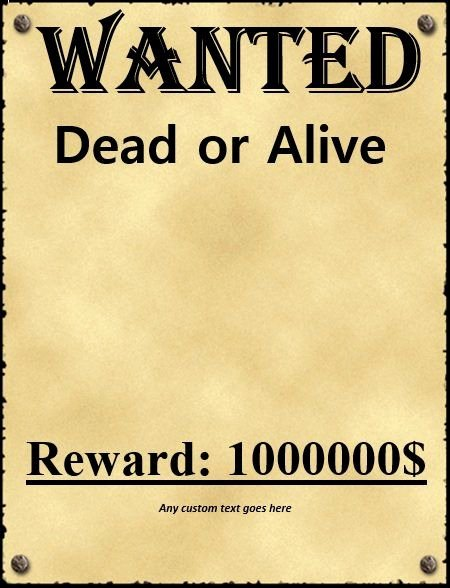 Free Wanted Poster Template Lovely Wanted Poster Template Fbi and Old West Free