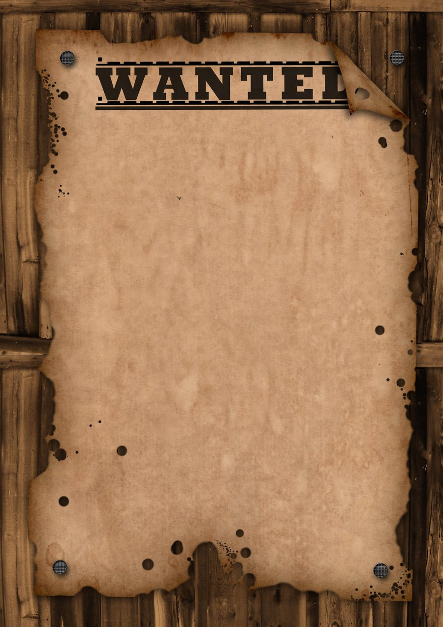 Free Wanted Poster Template Luxury Wanted Template by Maxemilliam On Deviantart