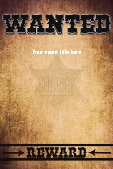 Free Wanted Poster Template New A Free Online Poster Maker tool with Thousands Of