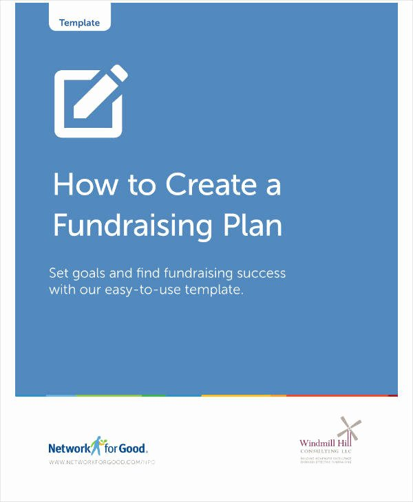 Fundraising Plan Template Free New 12 Nonprofit Fundraising Plan Templates Pdf