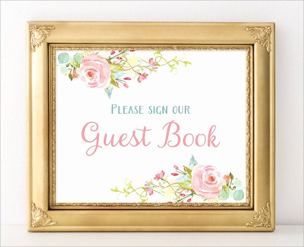 Funeral Guest Book Template Fresh 10 Guest Books Psd Pdf