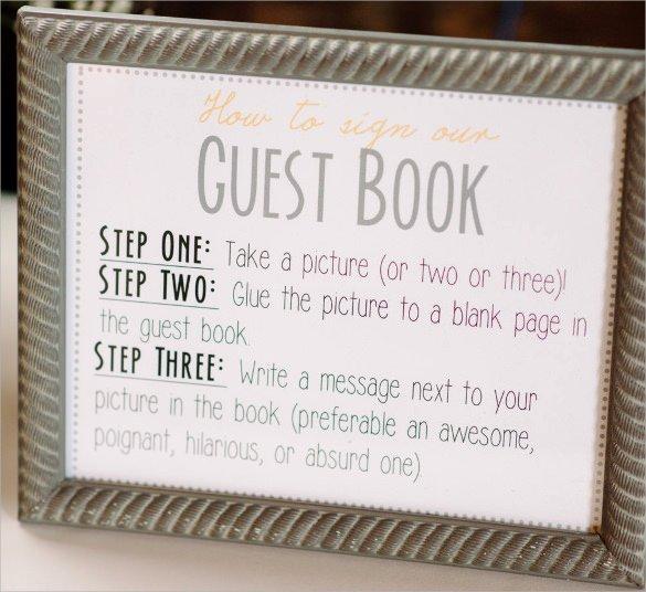 Funeral Guest Book Template Inspirational 10 Guest Books Psd Pdf