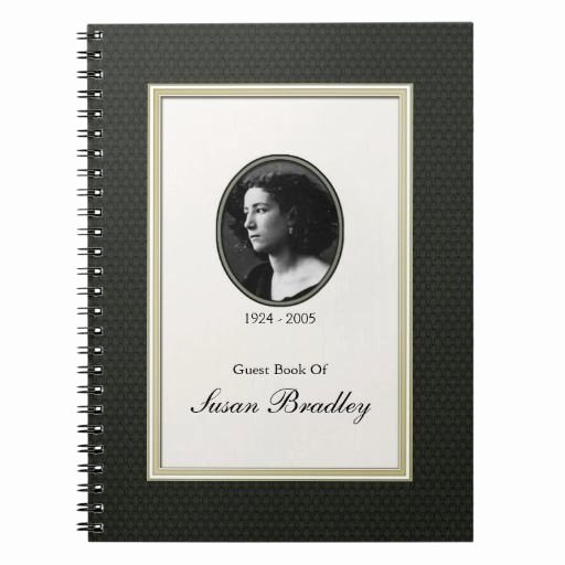 Funeral Guest Book Template Lovely 67 Best 5 Funeral Guest Books Images On Pinterest