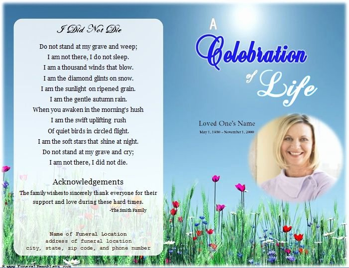 Funeral Program Template Free Unique 64 Best Memorial Legacy & Program Templates Images On