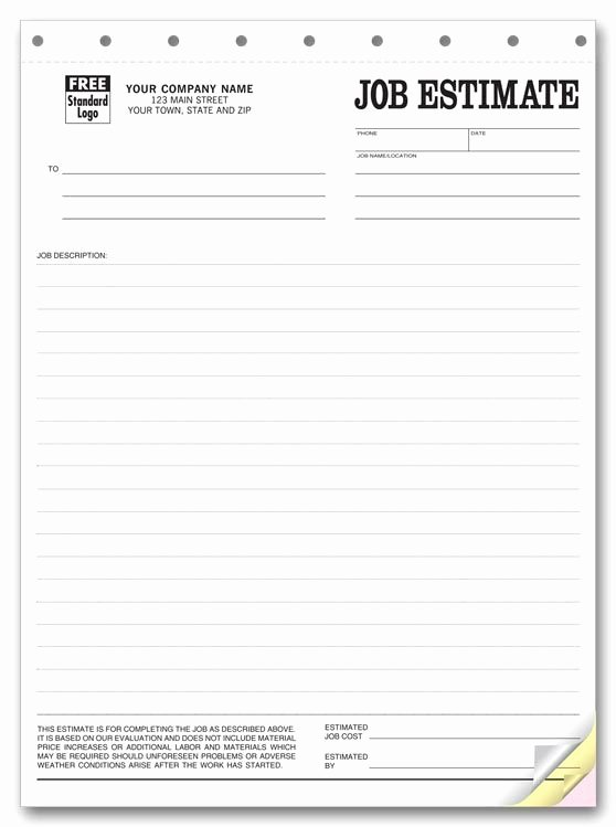 General Contractor Proposal Template Elegant Printable Blank Bid Proposal forms