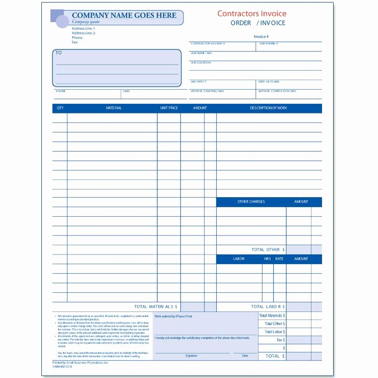 General Contractor Proposal Template Fresh Contractor Invoices Construction Invoice Custom