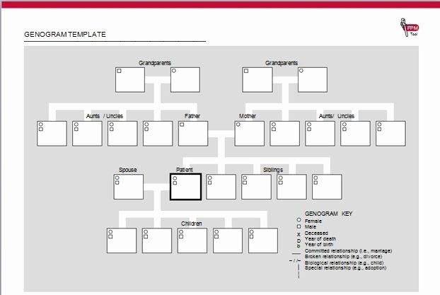 Genogram Template for Macs Inspirational 30 Free Genogram Templates & Symbols Template Lab