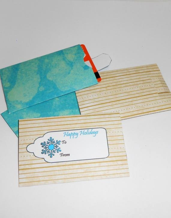 Gift Card Envelope Template Beautiful Items Similar to Diy Gift Card Envelopes Gift Card