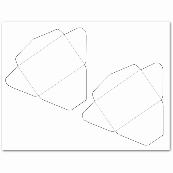 Gift Card Envelope Template Best Of 5 Free Envelope Templates for Microsoft Word