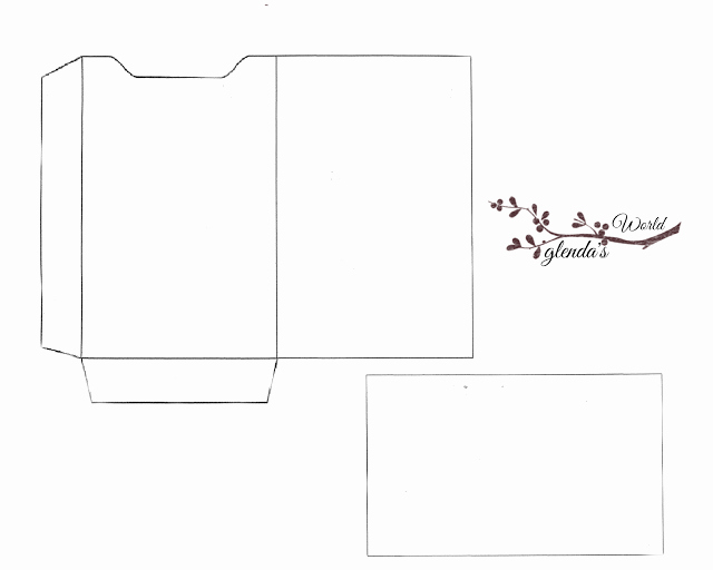 Gift Card Envelope Templates Beautiful Christmas Gift Card Sleeve with Card