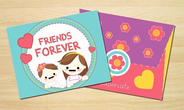 t card envelope template