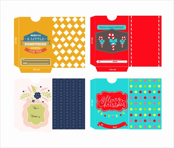Gift Card Envelope Templates New Sample Gift Card Envelope 9 Documents In Pdf Word Psd