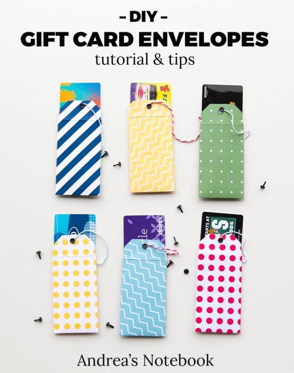 Gift Card Envelope Templates New Scrapbooking Tutorials & Ideas – Craft Gossip