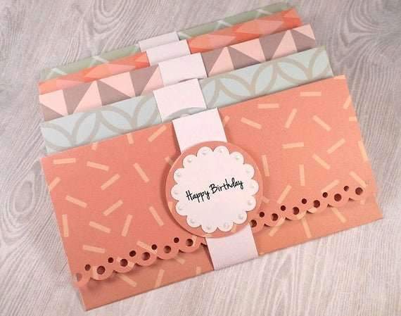 Gift Card Envelopes Templates Lovely Money Holder Cards Gift Card Holders Custom Gift Holders