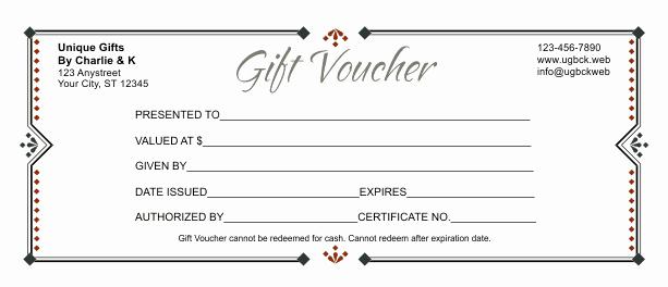 Gift Letter Template Word Lovely Gift Voucher Template 3