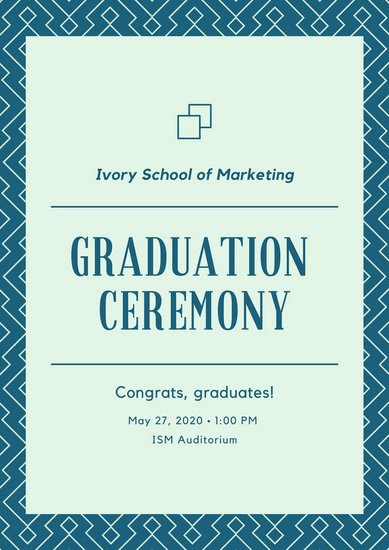 Graduation Ceremony Program Template Best Of Customize 75 Graduation Program Templates Online Canva