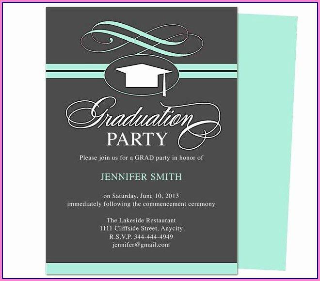 Graduation Invitation Templates Microsoft Word Beautiful 8th Grade Graduation Invitation Templates Template