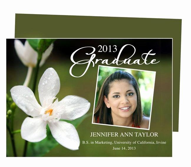 Graduation Invitation Templates Microsoft Word Inspirational Graduation Announcements Templates for Word Publisher