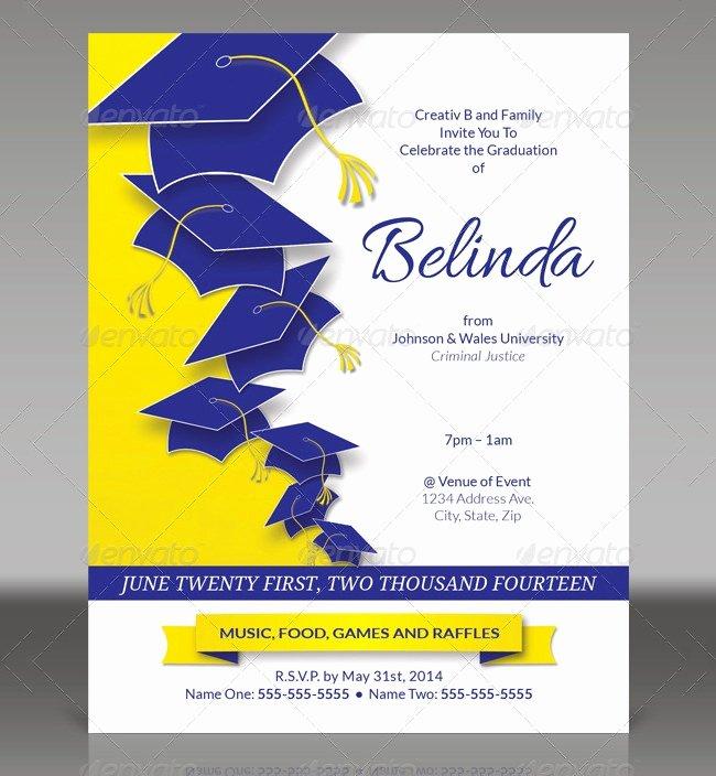 Graduation Invitation Templates Microsoft Word Luxury 25 Graduation Invitation Templates Psd Vector Eps Ai