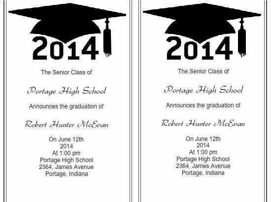 Graduation Invitation Templates Microsoft Word Luxury Use I Print Templates for Graduation Invitations