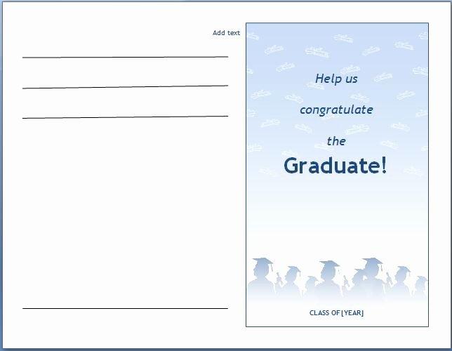 Graduation Invitation Templates Microsoft Word New Ms Word Graduation Party Invitation Template