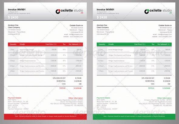 Graphic Design Estimate Template Awesome 21 Useful Invoice Indesign Templates – Design Freebies