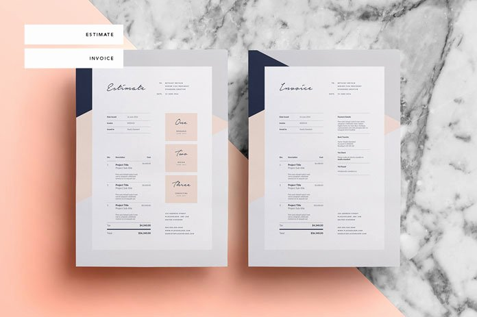 Graphic Design Estimate Template Beautiful sofia Pitch Pack Template for Adobe Indesign