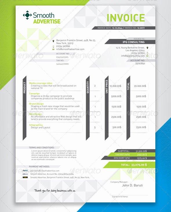 Graphic Design Estimate Template Best Of 37 Best Psd Invoice Templates for Freelancer – Bashooka