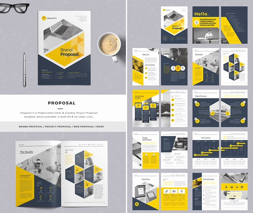 Graphic Design Proposal Template Awesome 15 Best Business Proposal Templates for New Client Projects