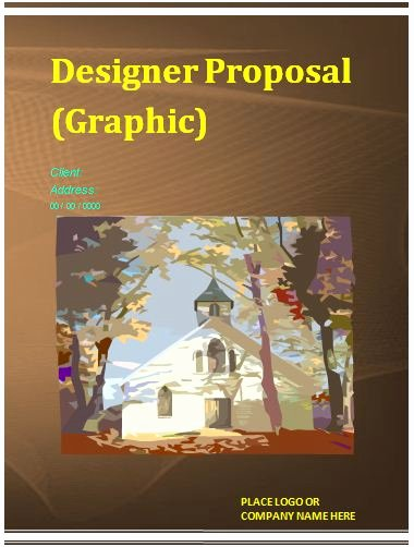 Graphic Design Proposal Template Beautiful Proposal Templates