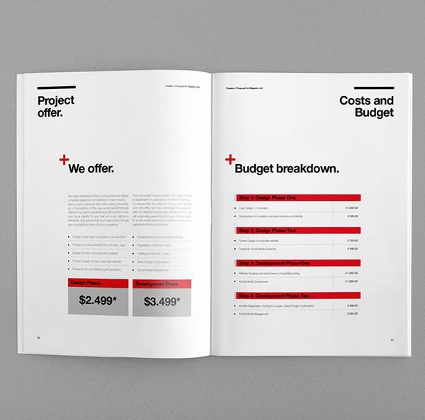 Graphic Design Proposal Template Luxury 66 Best Graphic Design Documents