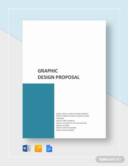 Graphic Design Proposal Template New Sample Graphic Design Proposal Template 10 Free