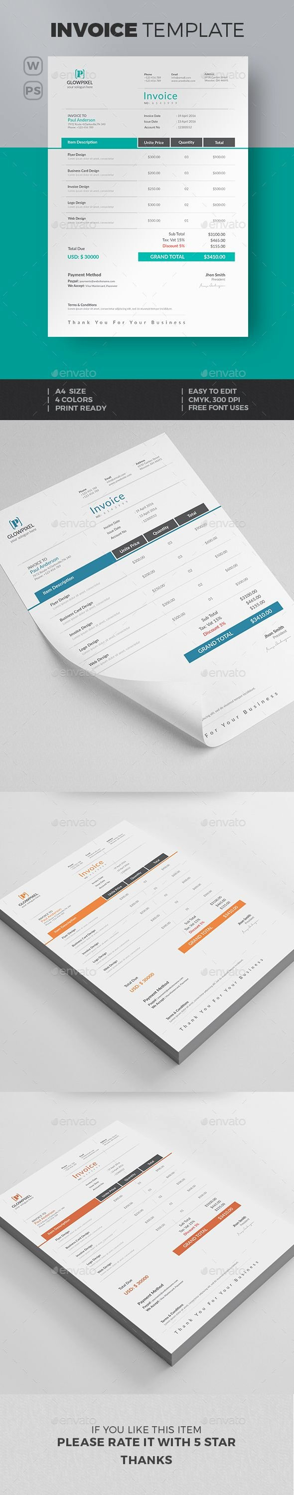 Graphic Design Quote Template New Pin by Best Graphic Design On Proposal & Invoice Templates