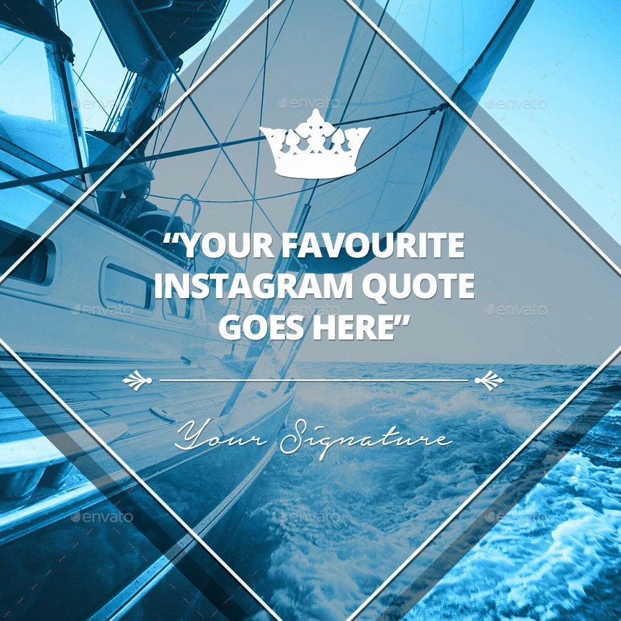 Graphic Design Quote Template Unique Multipurpose Instagram Quotes Banner Templates by Belegija