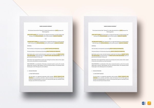Gym Membership Contract Template New 18 Gym Contract Templates Word Docs Pages