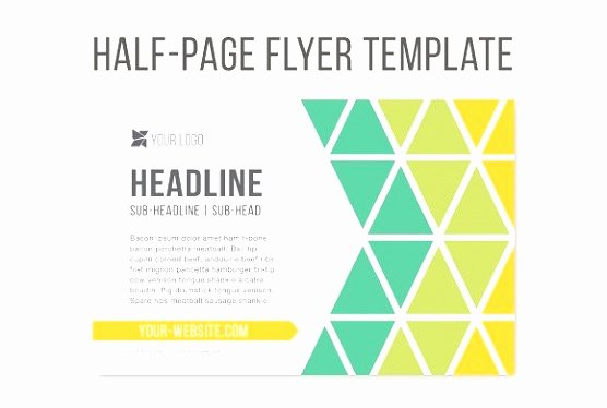 Half Page Flyer Template Best Of 9 Quarter Sheet Flyer Template Word Ityot