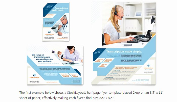 Half Page Flyer Template Fresh 6 Half Page Flyer Template