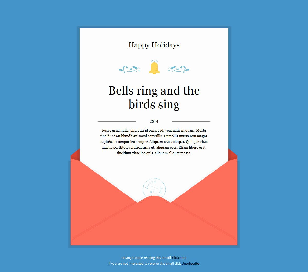 Happy New Year Email Template Awesome 20 Wonderful Christmas & New Year Email Templates – Bashooka