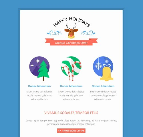 Happy New Year Email Template Elegant Happy New Year Newsletter Template – Festival Collections