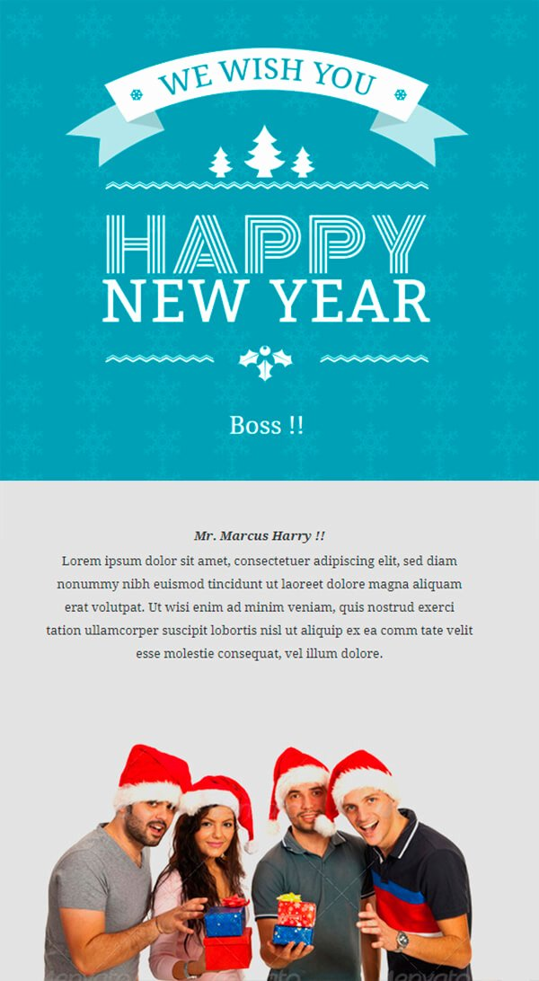 Happy New Year Email Template Unique Christmas Email Templates for the Up Ing Holiday Mailing