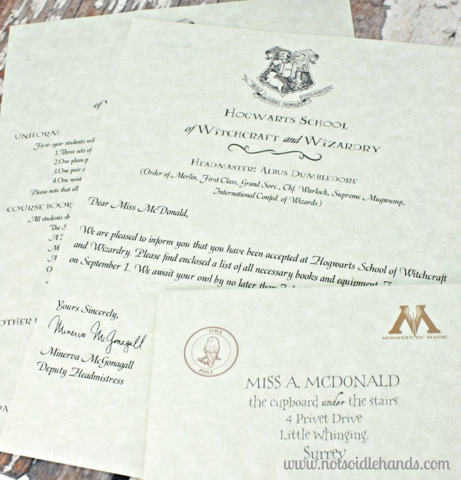 Harry Potter Acceptance Letter Template Awesome 19 Harry Potter Hogwarts Acceptance Letter Pdf