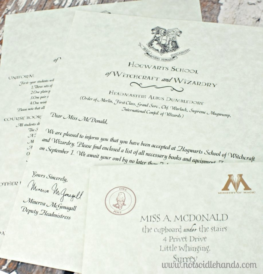Harry Potter Acceptance Letter Template Luxury 19 Harry Potter Hogwarts Acceptance Letter Pdf