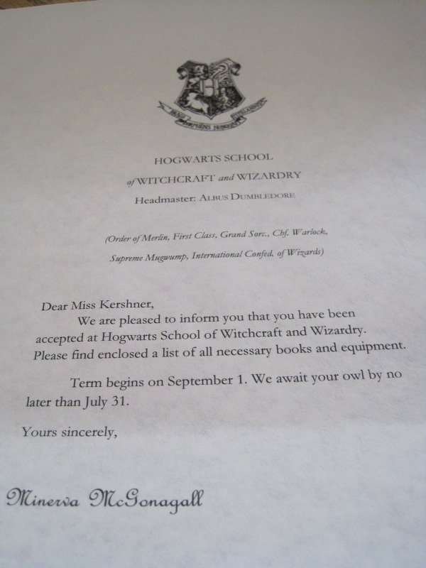 Harry Potter Acceptance Letter Template Luxury 8 Harry Potter Hogwarts Acceptance Letter Template