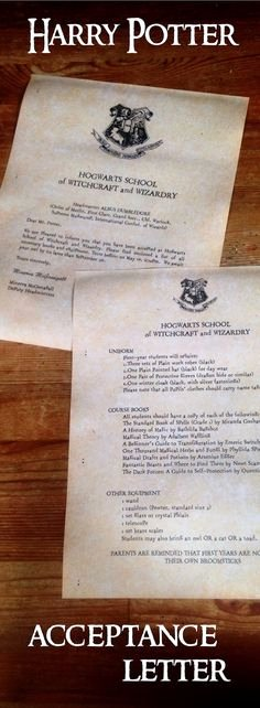 Harry Potter Acceptance Letter Template New Printable Hogwarts Letter Fill In the Blank and It