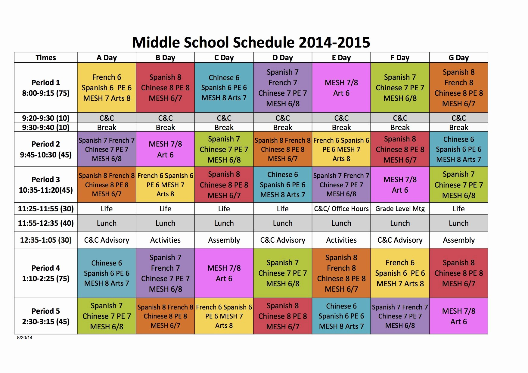 High School Schedule Template Fresh Quotes About Block Scheduling 26 Quotes
