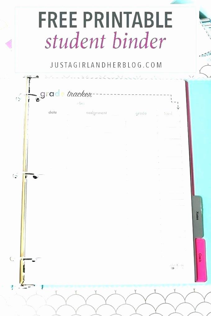 High School Schedule Template Inspirational Printable Homework Planner Student Planner — Homework
